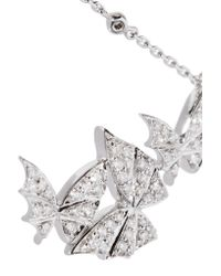 Stephen Webster - Metallic Fly By Night 18-karat White Gold Diamond Necklace - Lyst