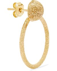 Carolina Bucci - Metallic Florentine Small Door Knocker 18-karat Gold Earrings - Lyst