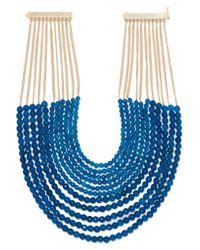 Rosantica - Blue Raissa Gold-tone Quartz Necklace - Lyst