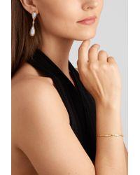 Fernando Jorge - Metallic Fluid 18-karat Rose Gold, Diamond And Chalcedony Earrings - Lyst