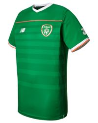New Balance Green Fa Ireland Mens Elite Training Pre Match Tee for men
