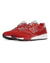 New Balance - Red 597 597 for Men - Lyst