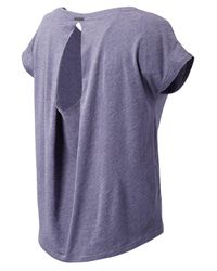 New Balance | Purple Cotton Tee | Lyst
