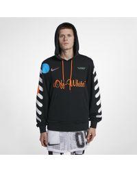 fe8b79f402c3 Lyst - Nike X Off-white Men s Hoodie in Black for Men