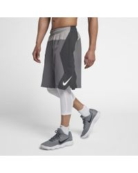 42b92298ab9a Lyst - Nike Dri-fit Men s Basketball Shorts in Gray for Men