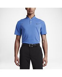 99c10a9079979 Nike Tw Vl Max Cotton Blade Men's Standard Fit Golf Polo Shirt in ...