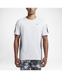 brand new 9985b 7df91 Lyst - Nike Golf 86 Hazard Crew Men s T-shirt in White for Men