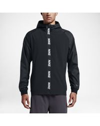 Nike | Black Men's Training Jacket for Men | Lyst