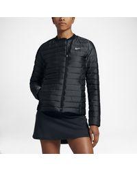Nike   Black Asymmetrical Down Women's Golf Jacket   Lyst