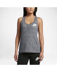 Nike | Gray Sportswear Gym Vintage Women's Tank | Lyst