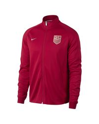 Nike - Red U.s. Authentic N98 Men's Track Jacket for Men - Lyst