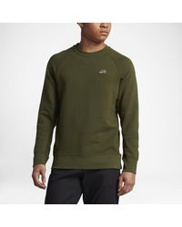 Lyst Nike Sb Everett Crew Men S Sweatshirt In Green For Men