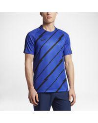 Nike | Black Dry Squad Men's Short Sleeve Soccer Top for Men | Lyst