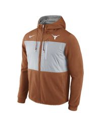 Nike - Orange College Championship Drive Av15 Fleece (texas) Men's Full-zip Hoodie for Men - Lyst