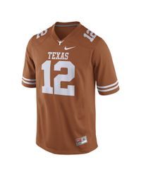 Nike | Orange Player (texas / Mccoy) Men's Football Jersey for Men | Lyst