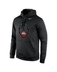 Nike | Black College Icon Football (ohio State) Men's Hoodie for Men | Lyst