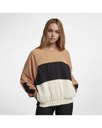 Nike - Brown Hurley One And Only Dolman Fleece Crew - Lyst