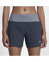 "Nike - Blue Rival Women's 5"" Lined Running Shorts - Lyst"