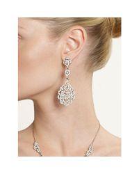 Nina - Multicolor Eiffel Earrings - Lyst