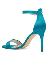 Nine West - Blue Mana Open Toe Sandals - Lyst