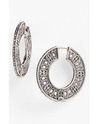 Konstantino - Metallic 'classics' Hoop Earrings - Lyst