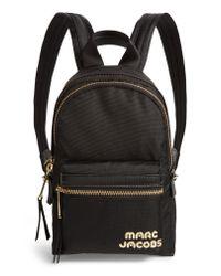 Marc Jacobs - Black Mini Trek Nylon Backpack - - Lyst