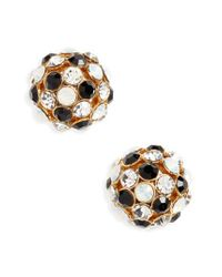 Kate Spade - Metallic Ball Stud Earrings - Lyst