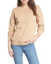 Madewell Natural Mainstay Sweatshirt