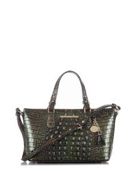 Brahmin - Yellow Melbourne Mini Asher Leather Tote - Lyst
