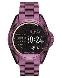 Michael Kors | Multicolor Michael Michael Kors Bradshaw Access Bracelet Smart Watch | Lyst