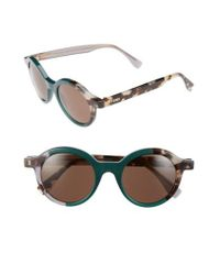 Fendi - Green 48mm Sunglasses - Lyst