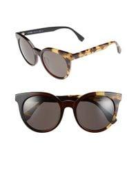 Fendi | Brown 51mm Sunglasses | Lyst