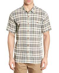 Patagonia   Green 'a/c' Regular Fit Organic Cotton Short Sleeve Sport Shirt for Men   Lyst