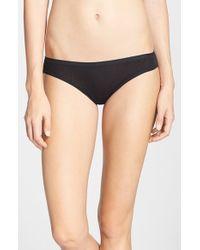 On Gossamer | Black Mesh Bikini | Lyst