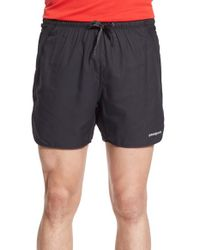 Patagonia | Black Strider Pro Stretch Woven Running Shorts for Men | Lyst