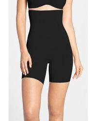 Spanx | Black Spanx Oncore High Waist Mid Thigh Shaper | Lyst