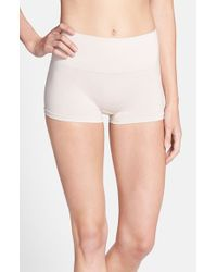 Yummie By Heather Thomson | Natural 'sam' Smoothing Boyshorts | Lyst
