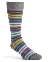 Pantherella | Gray 'kilburn' Egyptian Cotton Socks for Men | Lyst