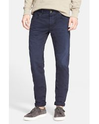 Rag & Bone | Gray Standard Issue Fit 2 Slim Fit Five-pocket Pants for Men | Lyst
