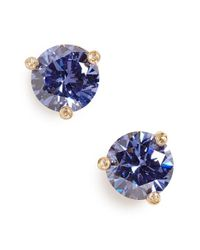 kate spade new york | Blue 'rise And Shine' Stud Earrings | Lyst