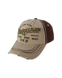 True Religion - Multicolor 'triple X' Baseball Cap for Men - Lyst