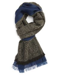 Polo Ralph Lauren | Blue Reversible Scarf for Men | Lyst