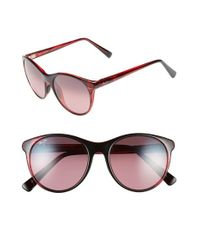 Maui Jim | Red Mannikin 54mm Polarizedplus Cat Eye Sunglasses | Lyst