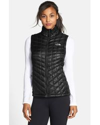 The North Face | Black 'Thermoball' Primaloft Vest | Lyst