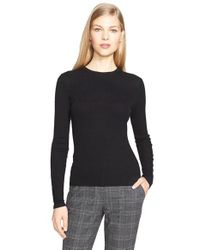 Michael Kors | Black Featherweight Cashmere Sweater | Lyst