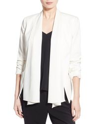 Trouvé - White Convertible Stretch-Crepe Jacket - Lyst