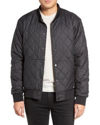 The North Face | Black Jester Reversible Snap Front Jacket for Men | Lyst