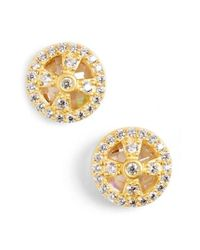 Freida Rothman - Metallic 'metropolitan' Small Stud Earrings - Lyst