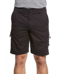 Quiksilver | Black Maldive Cargo Shorts for Men | Lyst