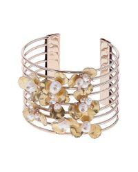 Nakamol - Metallic Wire Bead Cuff Bracelet - Lyst